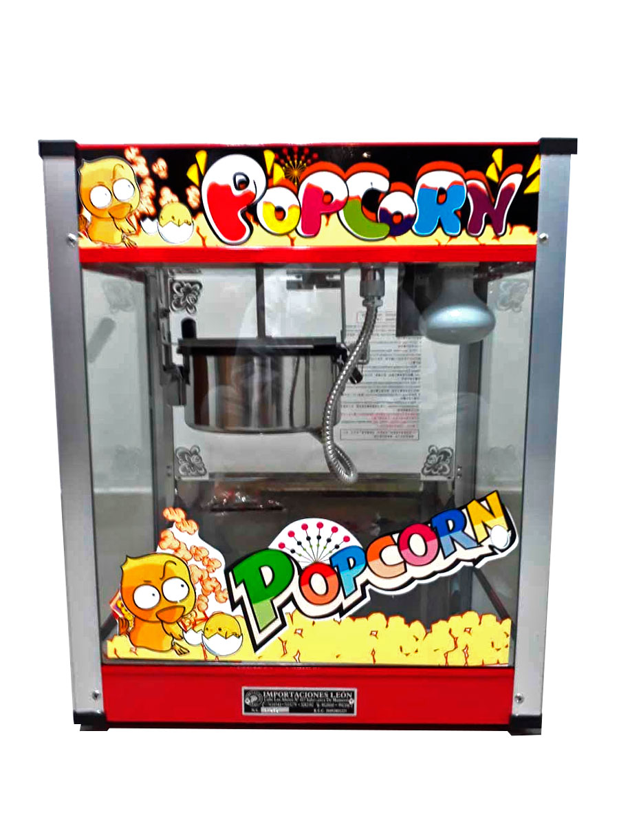 MAQUINA DE POP CORN VERLY-VBG